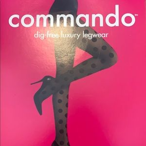 Commando big DOT premier sheets